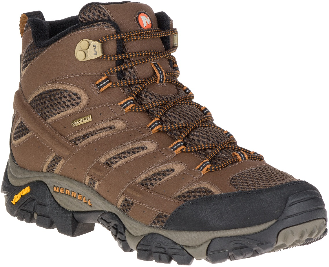Men's Merrell Moab 2 Mid GORE-TEX® in Earth