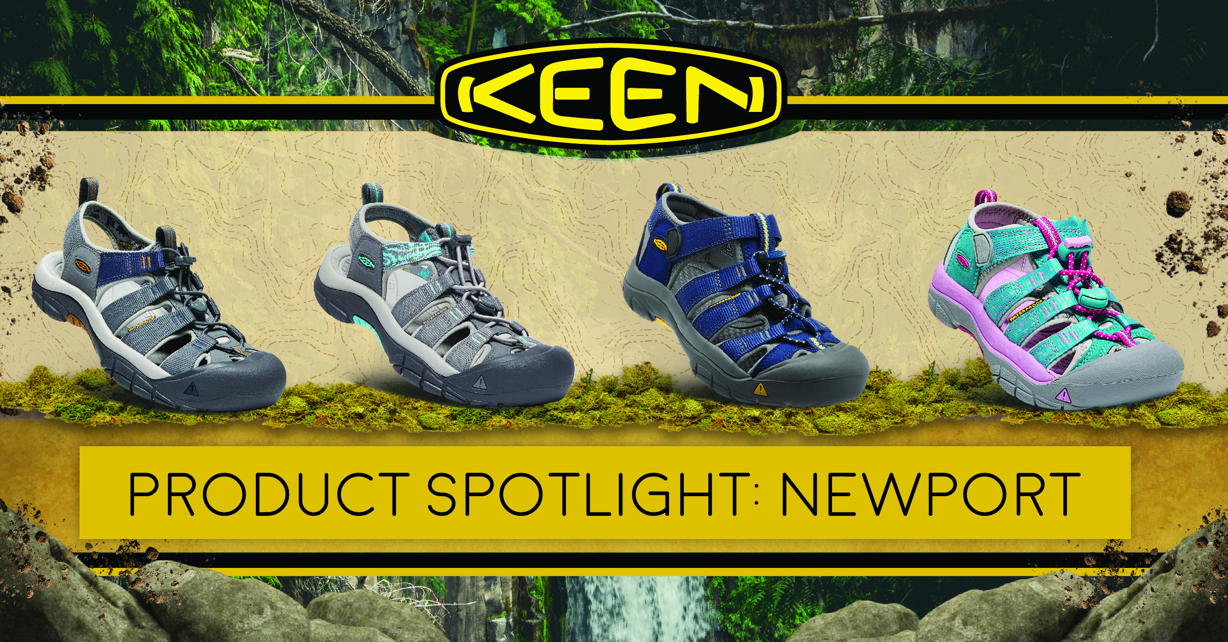 33357ad2b182 Hiking Sandals with a Twist  The KEEN Newport. ""
