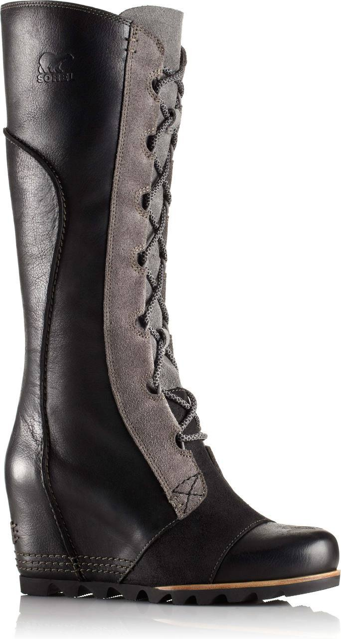 Sorel Cate the Great Wedge in Black