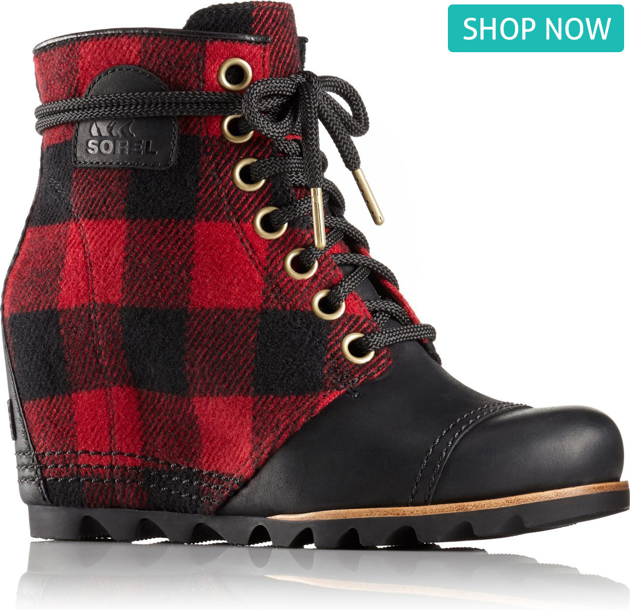 Sorel PDX Wedge in Black