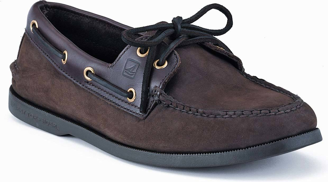 Sperry Authentic Original Boat Shoe in Brown/Buc Brown