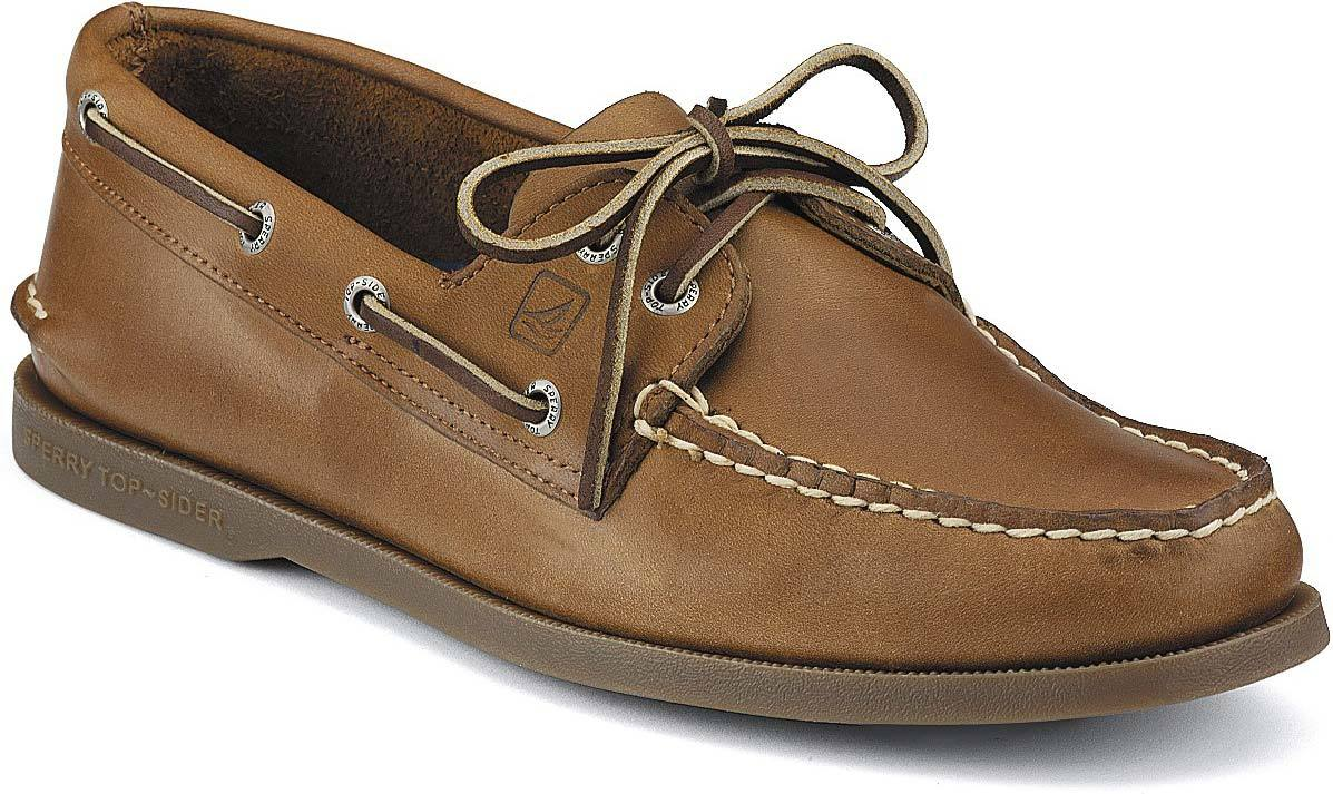 Sperry Authentic Original Boat Shoe in Sahara