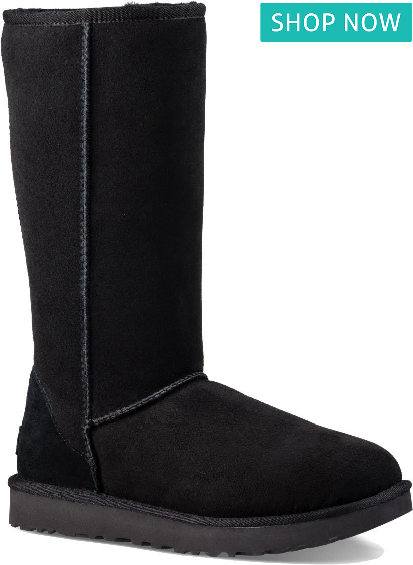 UGG Classic Tall II in Black
