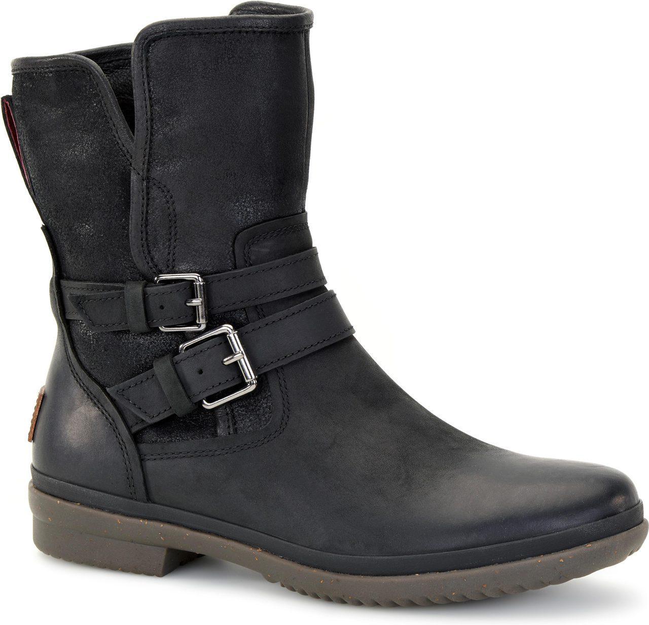 UGG Shaye Bandana Black Rain Boot (Women) #Uggboots | Ugg