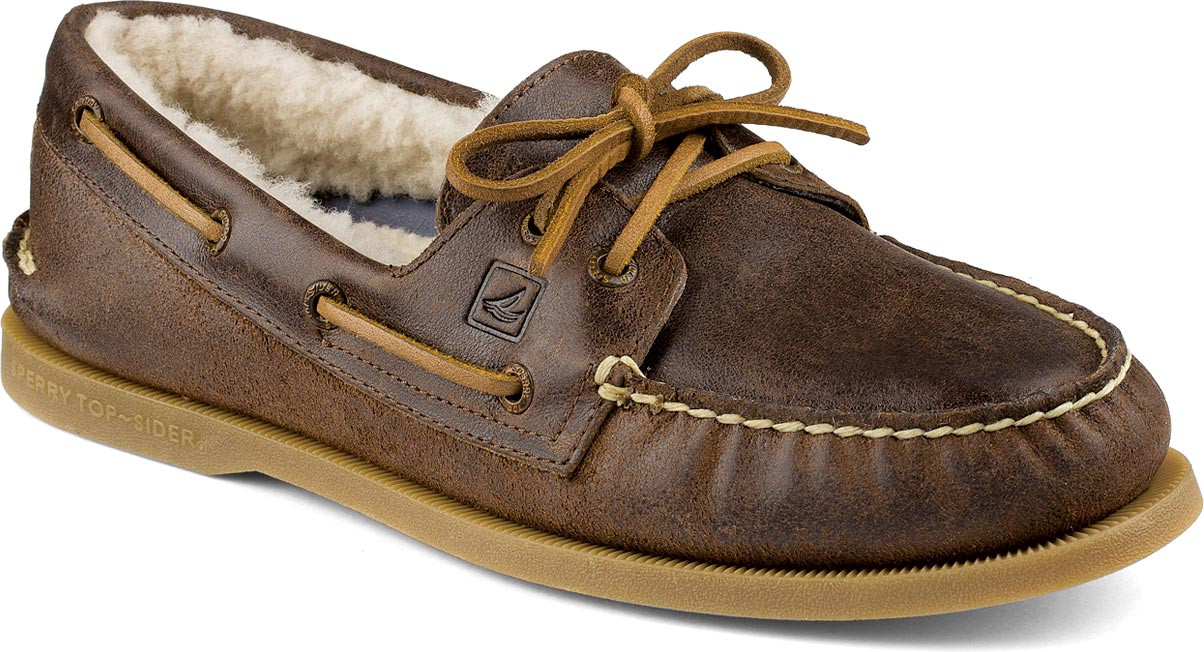 Dark Brown Boat Shoes For Men