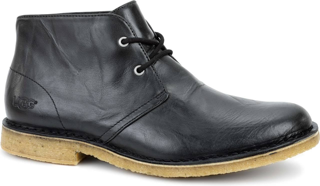 Home; UGG Australia Men's Leighton Leather. Black