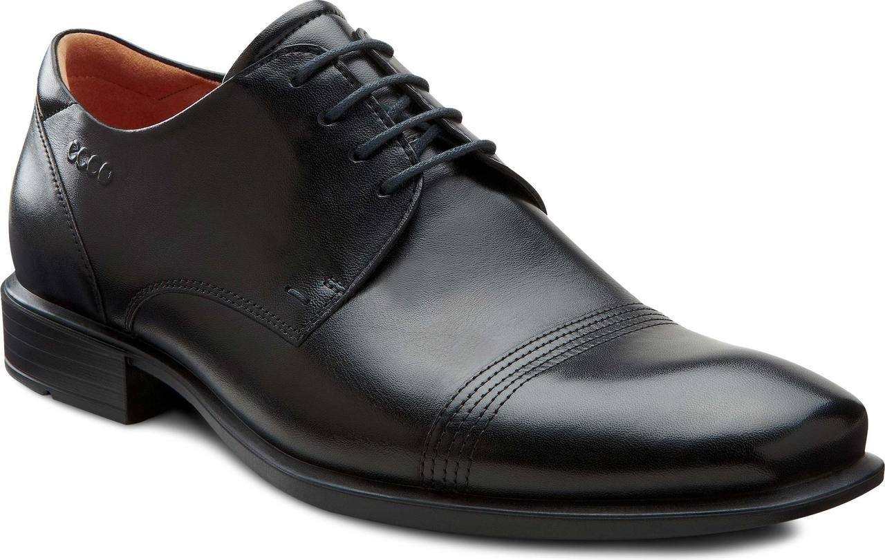 f7dc0049e38 Home  ECCO Men s Cairo Cap Toe Tie GTX (Available in Multiple Colors). Black