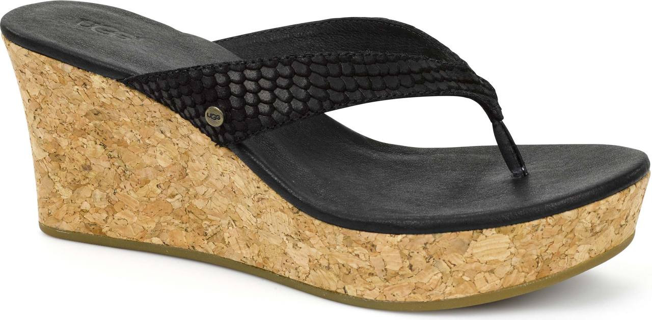 ... Sandals; UGG Australia Women's Natassia Mar. Black. Black; Chestnut