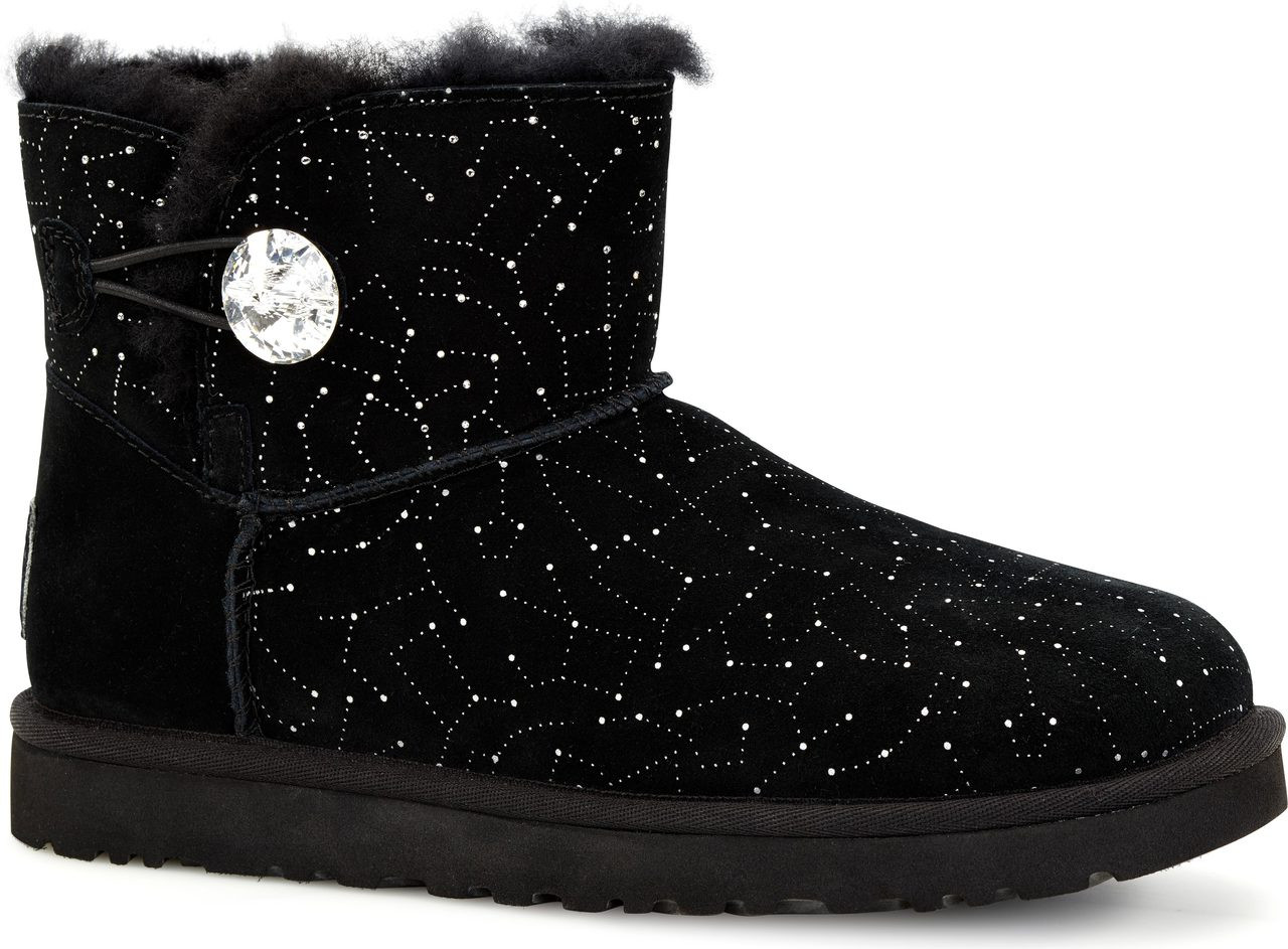 ... Boots; UGG Australia Women's Mini Bailey Button Bling Constellation. Black