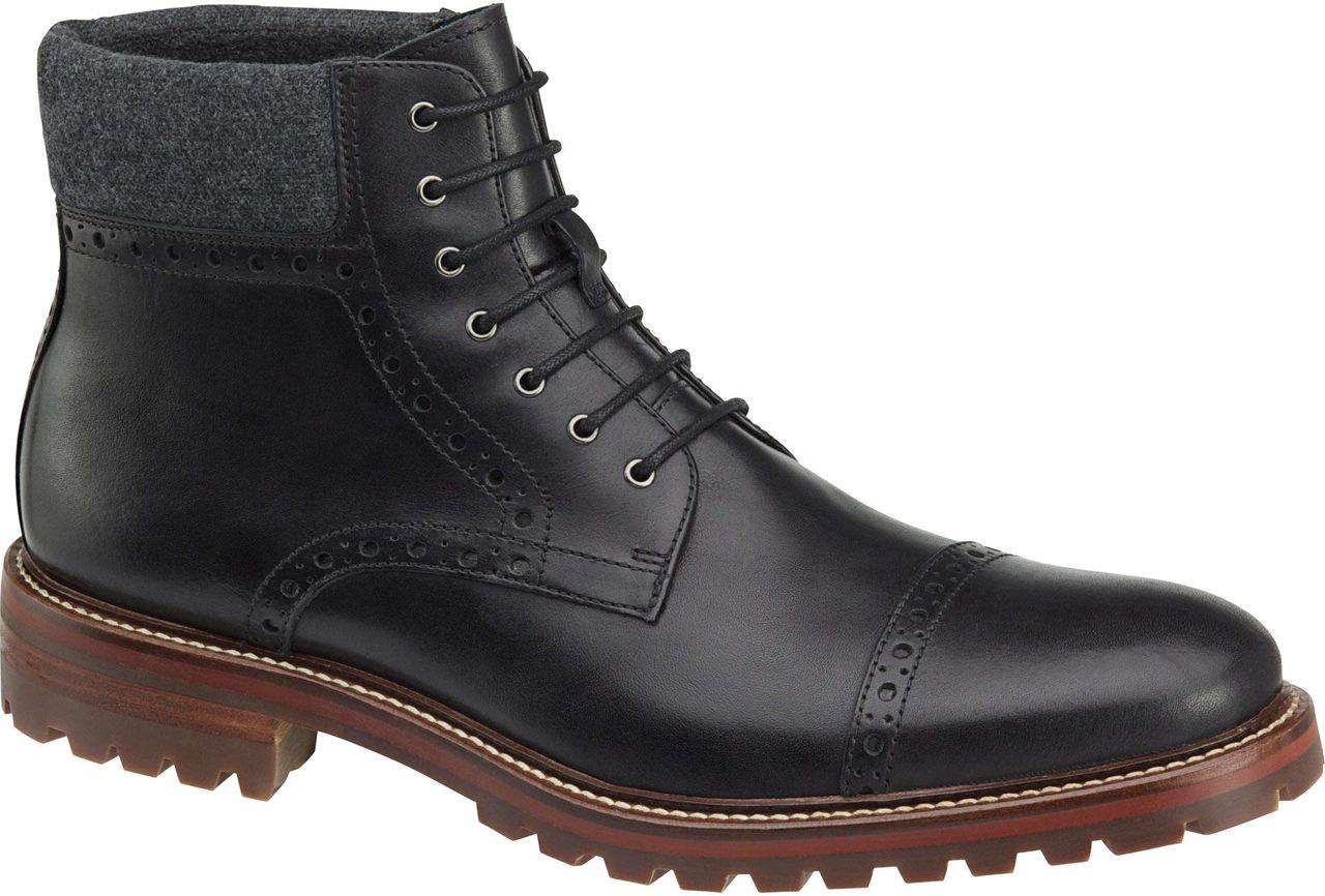 851d646c7b4 Johnston & Murphy Karnes Cap Toe Boot