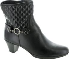 Black Leather/Polyurethane