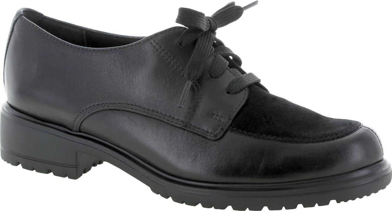 Black Leather/Black Suede