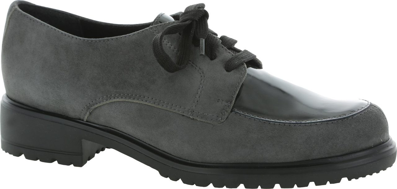Grey Suede/Patent