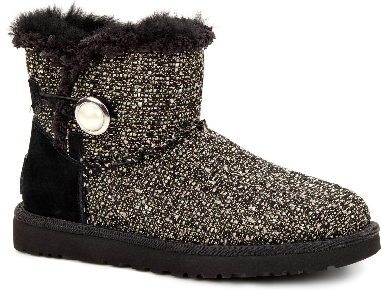 cdf184c6db1 promo code ugg mini bailey button fancy black number e1f3f bb0ca