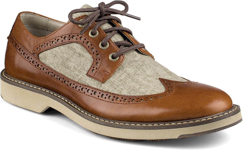 Sperry Top-Sider - Gold Lug Wingtip Brogue Oxford Shoe - - M.