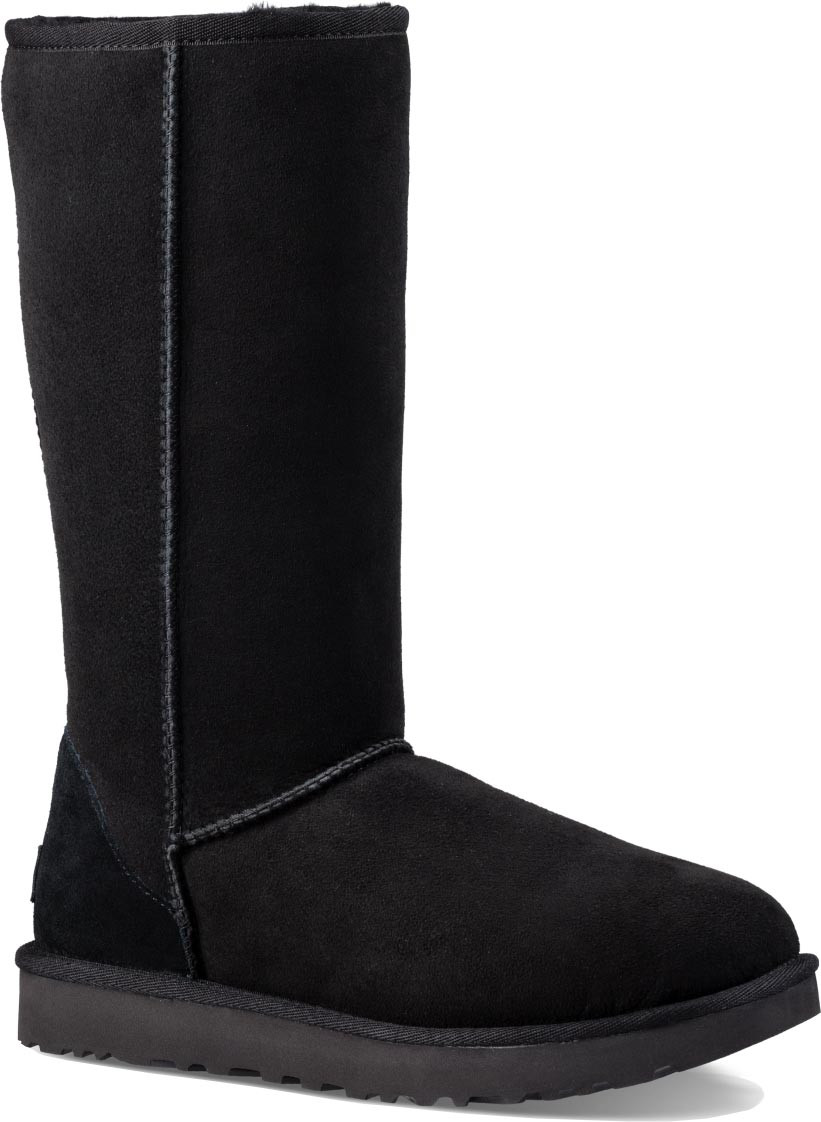 Home; UGG Classic Tall II for Women. Black