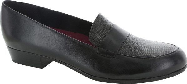 Black Leather/Lizard