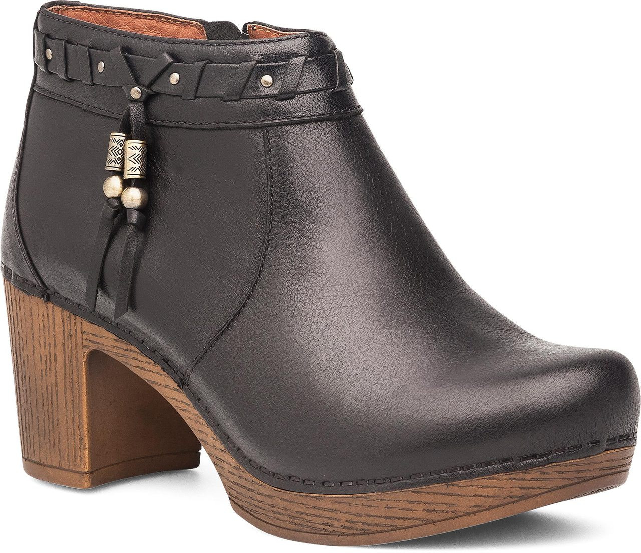 17a954588561 Home · Women s Clearance Shoes · Boots  Dansko Dabney. Black Burnished Full  Grain Leather