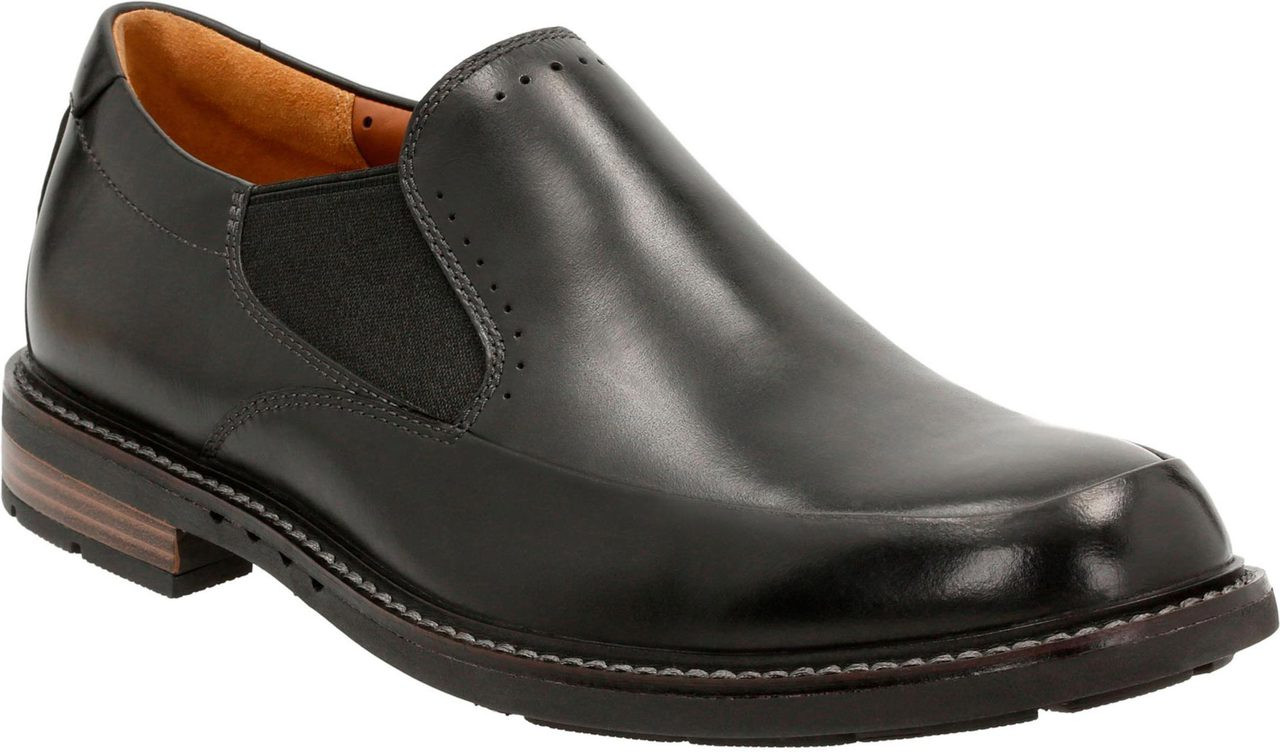 Home; Clarks Unstructured Men's Un.Elott Step. Black Leather