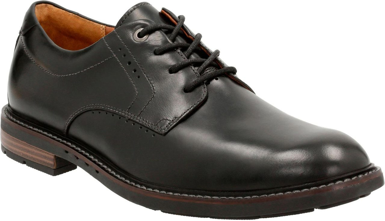 Home; Clarks Unstructured Men's Un.Elott Plain. Black Leather