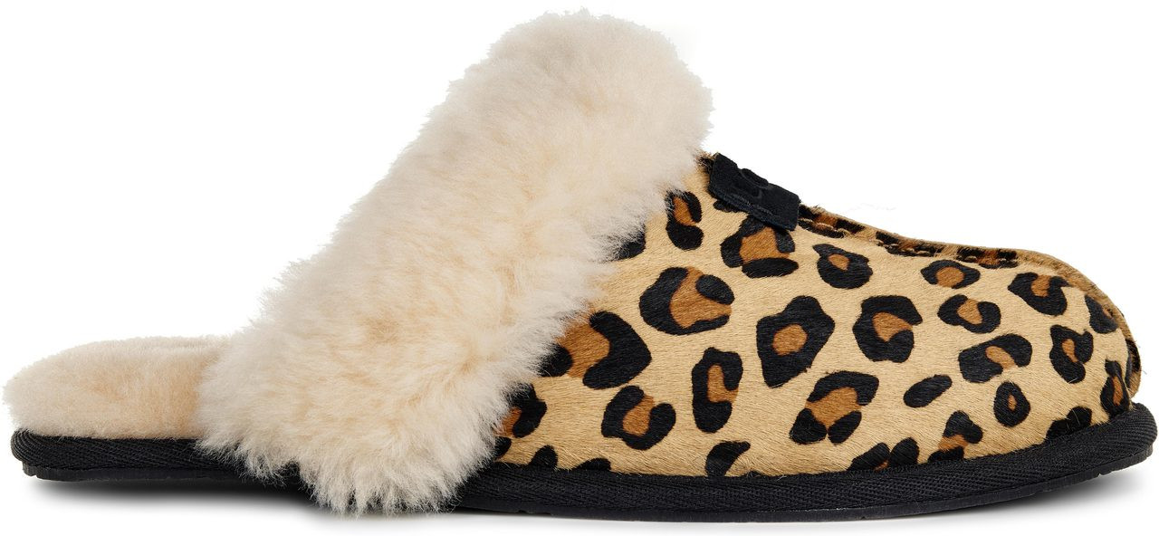 04c339bcfe97 UGG Women s Scuffette II Calf Hair Leopard - FREE Shipping   FREE ...