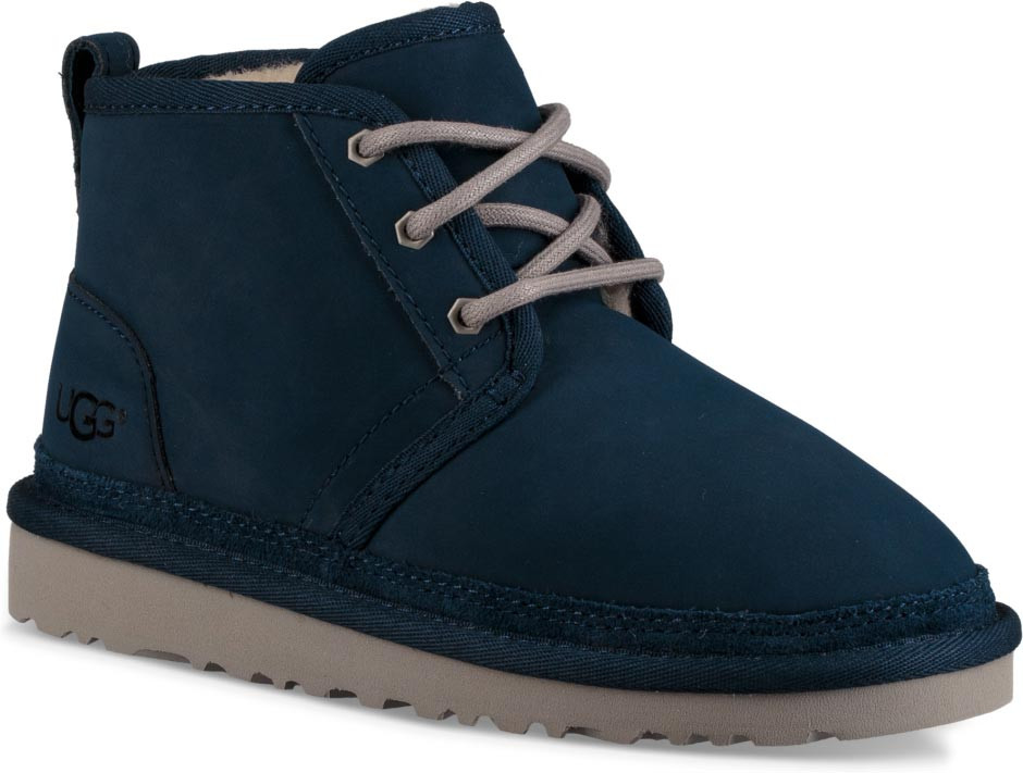 blue and white neumel uggs