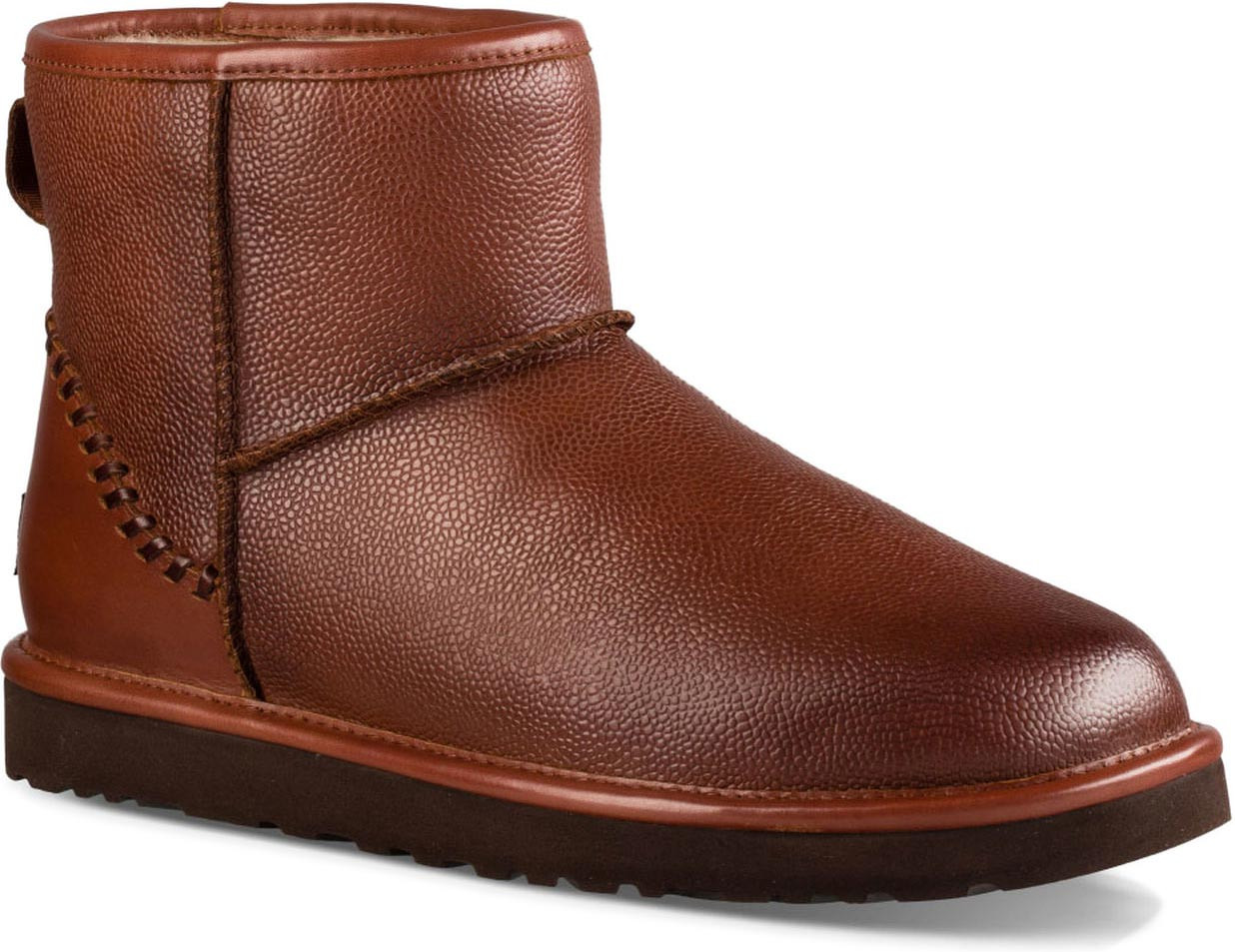... UGG Men's Classic Mini Deco Scotch Grain. Cognac