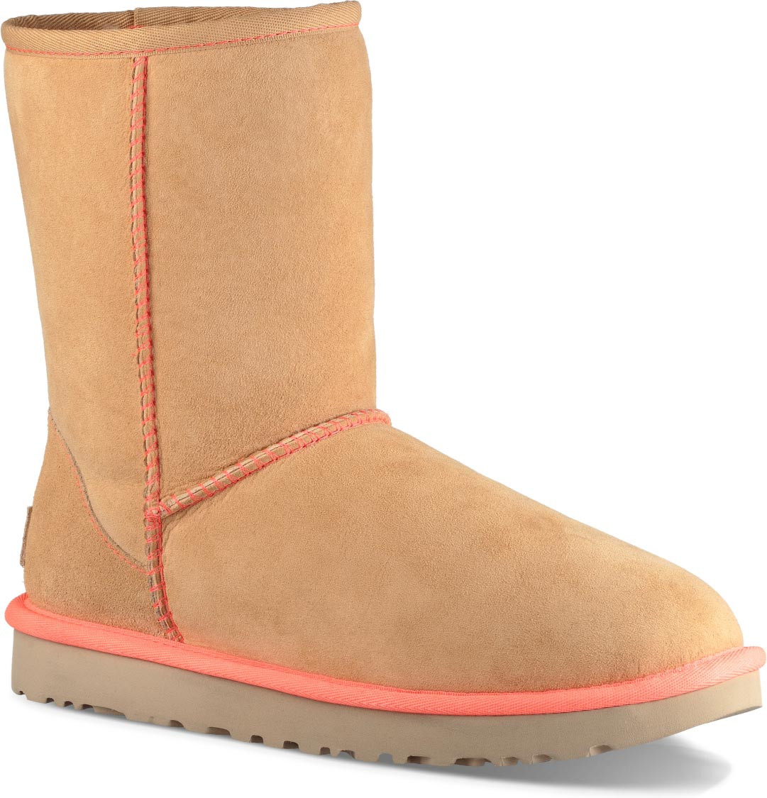 ... UGG Women's Classic Short II Neon. Canvas · Canvas · Chestnut · Pencil Lead · Soft Ochre
