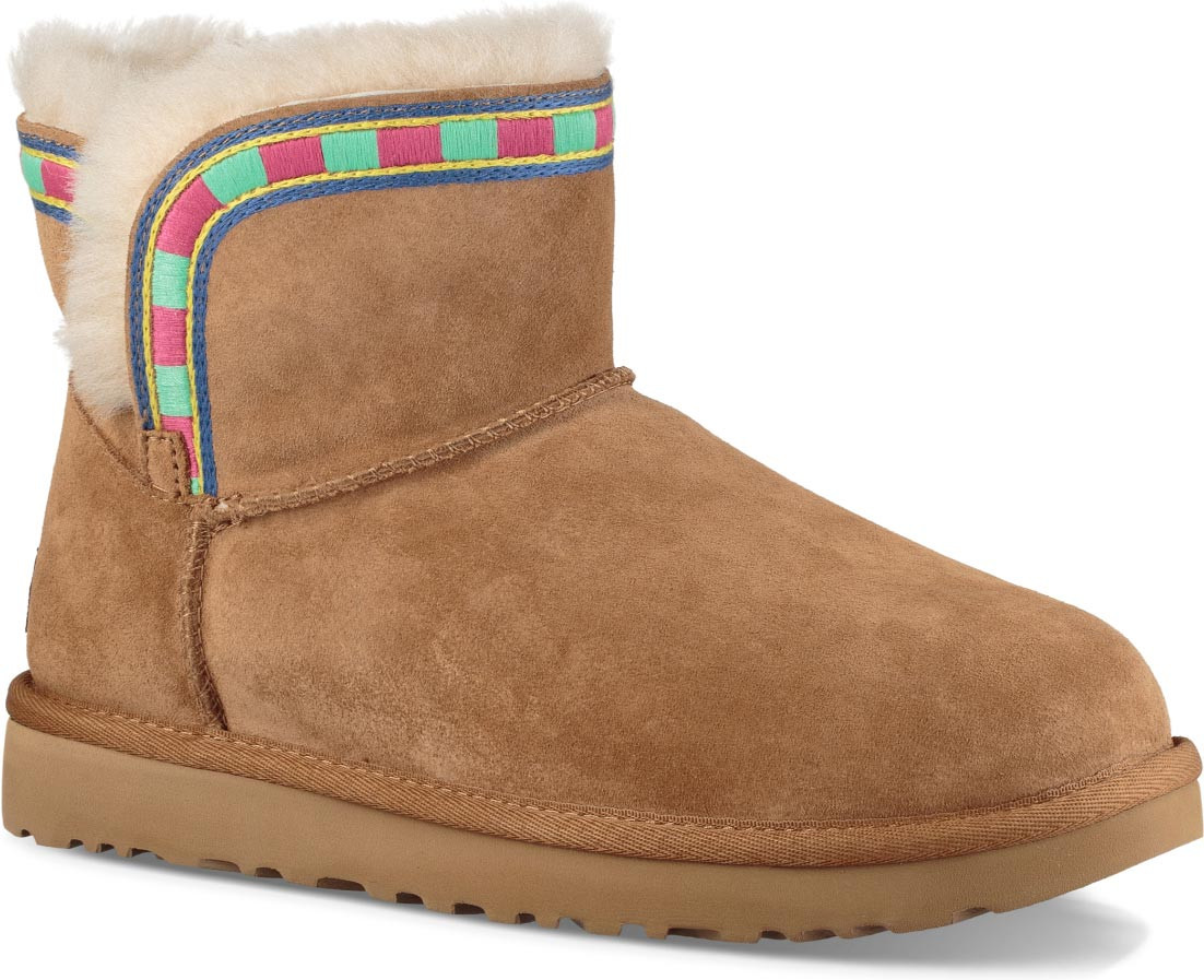 ... Boots; UGG Women's Rosamaria Embroidery. Chestnut