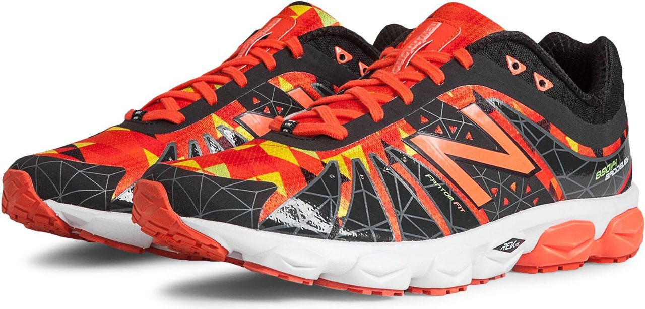 size 40 f3fa2 212e8 ... shopping new balance mens 890v4. black with orange and yellow 79f1d  bd863