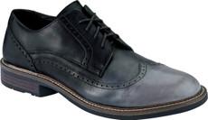 Gray Black Leather