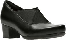 Black Leather/Textile Combi