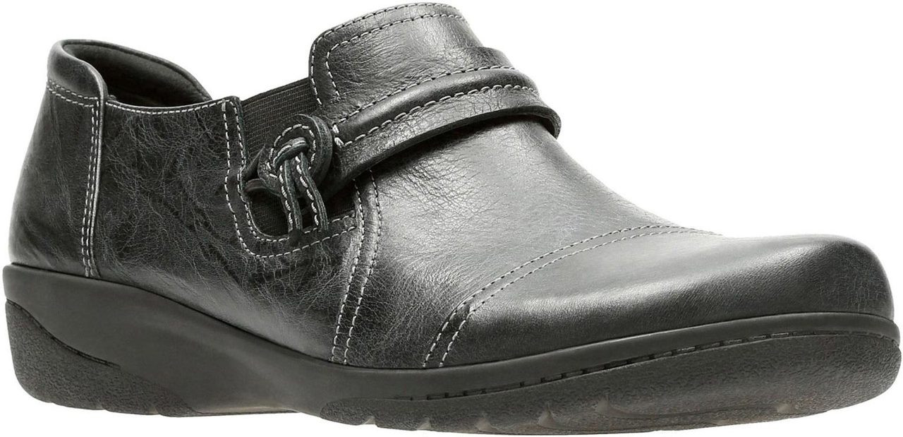 Black Scrunch Leather