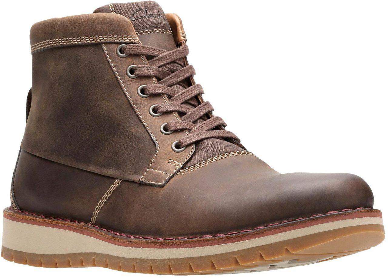 c3b638862b97 Clarks Montecute Top Boots Mens Footwear Shop Mens Footwear COLOUR-black