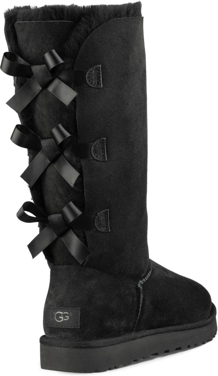 black bailey bow uggs womens