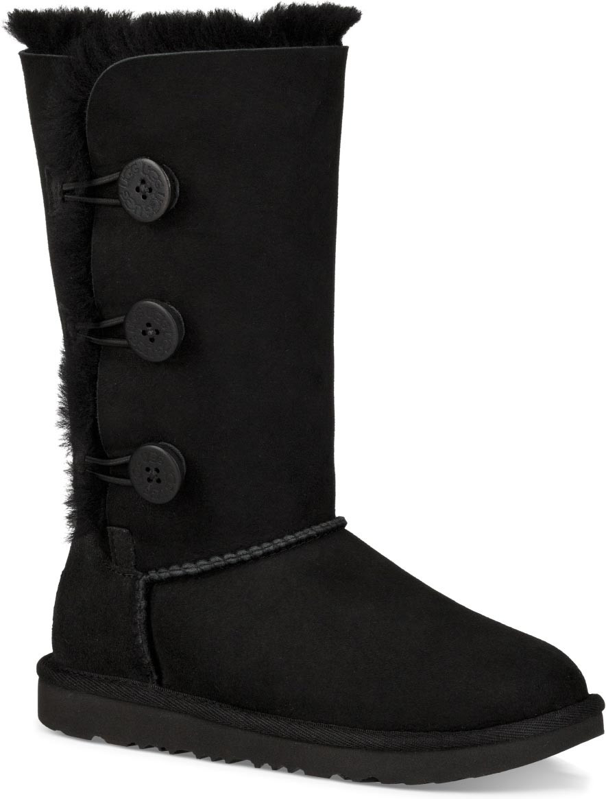 6e07ce3728f4e ... Boots  UGG Kids Bailey Button Triplet II. Black · Black · Chestnut ·  Grey. AddThis Sharing Buttons