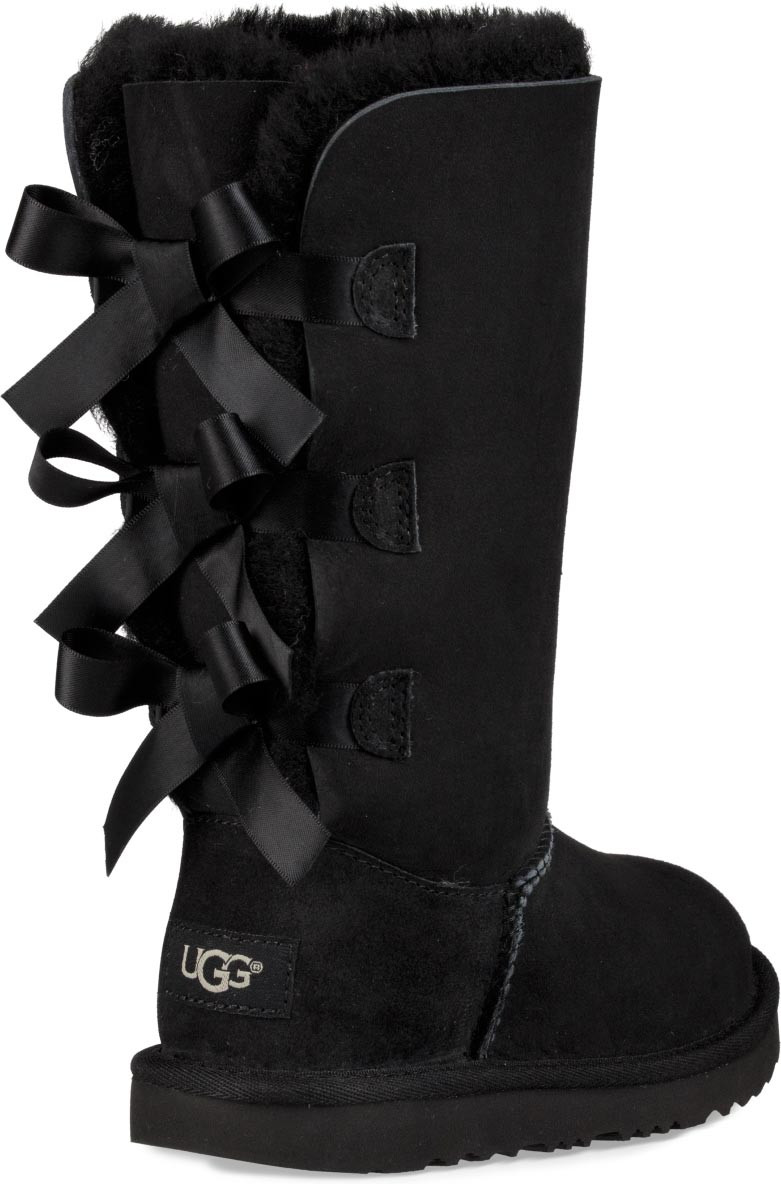 ... UGG Kids Bailey Bow Tall II. Black