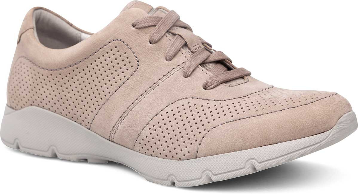 Taupe Suede Milled Nubuck Leather