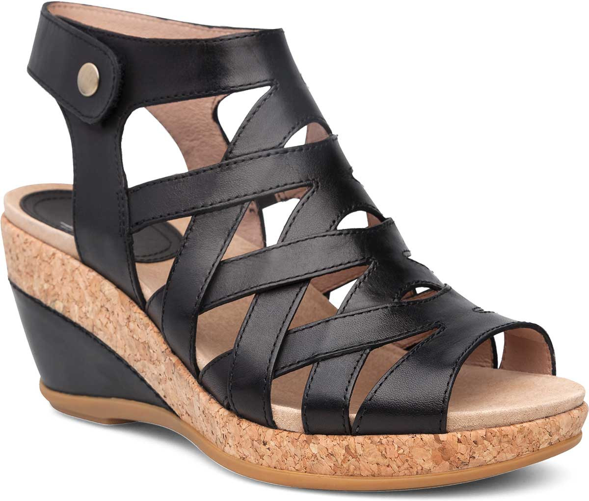 8d205af1a02 Home · Women s · Shop By Style · Sandals  Dansko Cecily. Black Full Grain  Leather