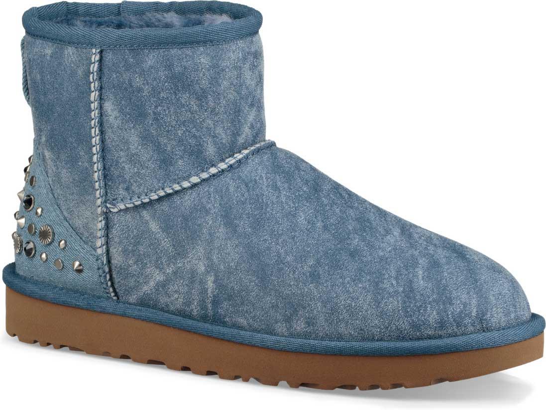 ... Boots; UGG Women's Mini Studded Bling. Light Denim