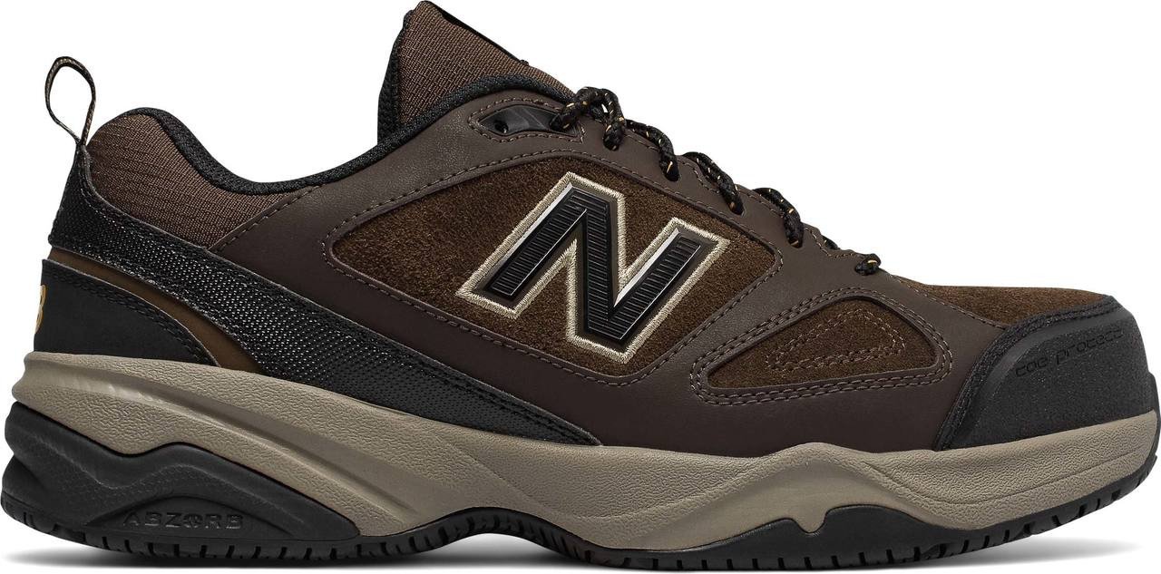 buy popular b0e8d 7fd71 ... Sneakers   Athletic  New Balance Men s Steel Toe 627v2. Brown with Black