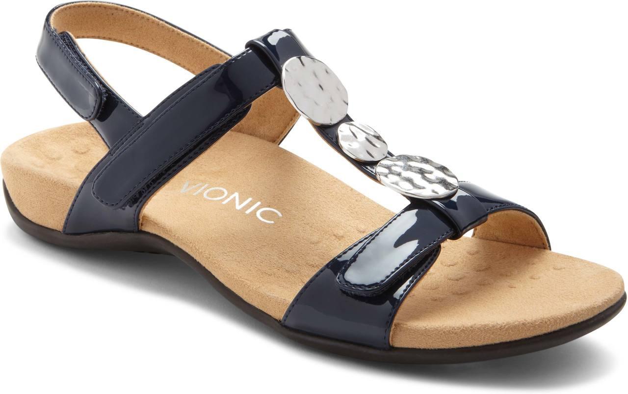 3e410706172 ... Sandals  Vionic Women s Farra. Black Lizard. Black Lizard  Black  Patent  Fig Lizard  Navy Patent