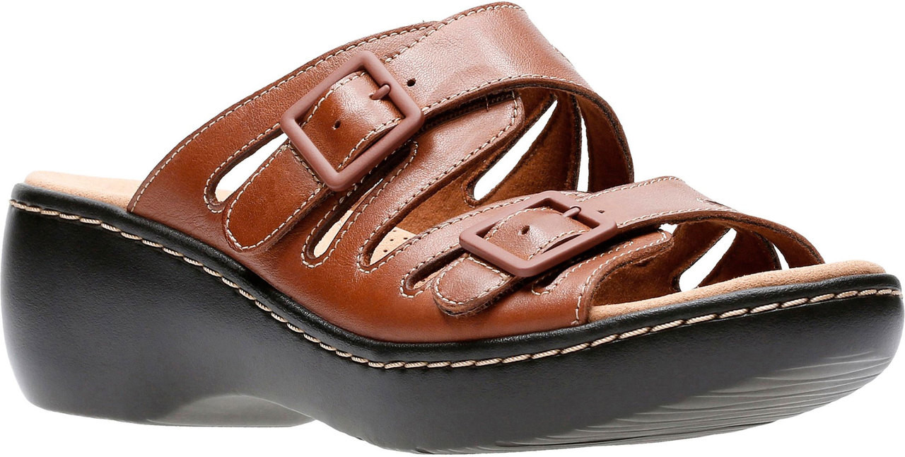 7f1199af75e ... Sandals  Clarks Women s Delana Liri. Black Leather · Black Leather ·  Dark Tan Leather ...