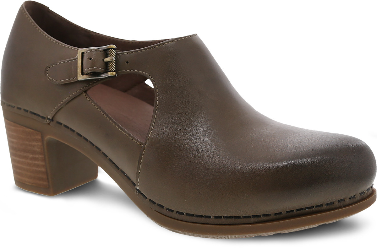 Taupe Burnished Calf