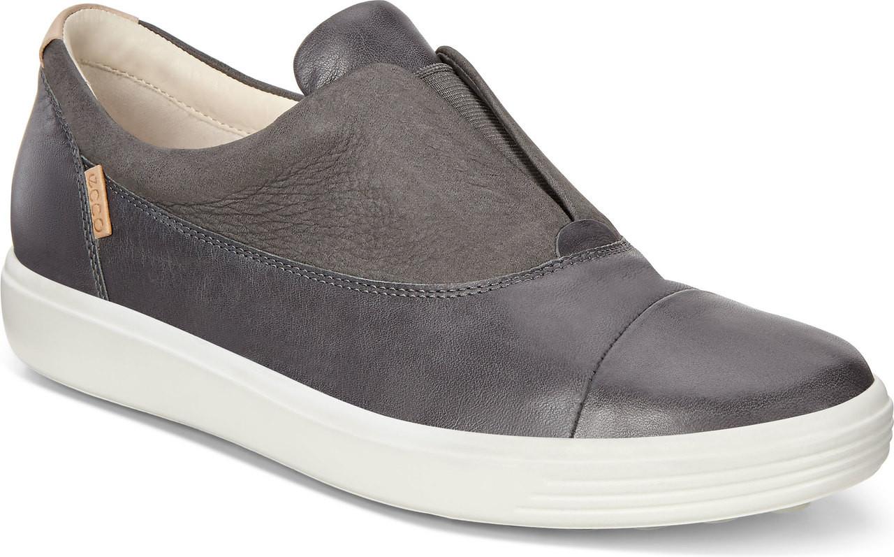 6dfeb9c13616 ... Sneakers   Athletic  ECCO Women s Soft 7 Slip-On. Dark Shadow Moonless