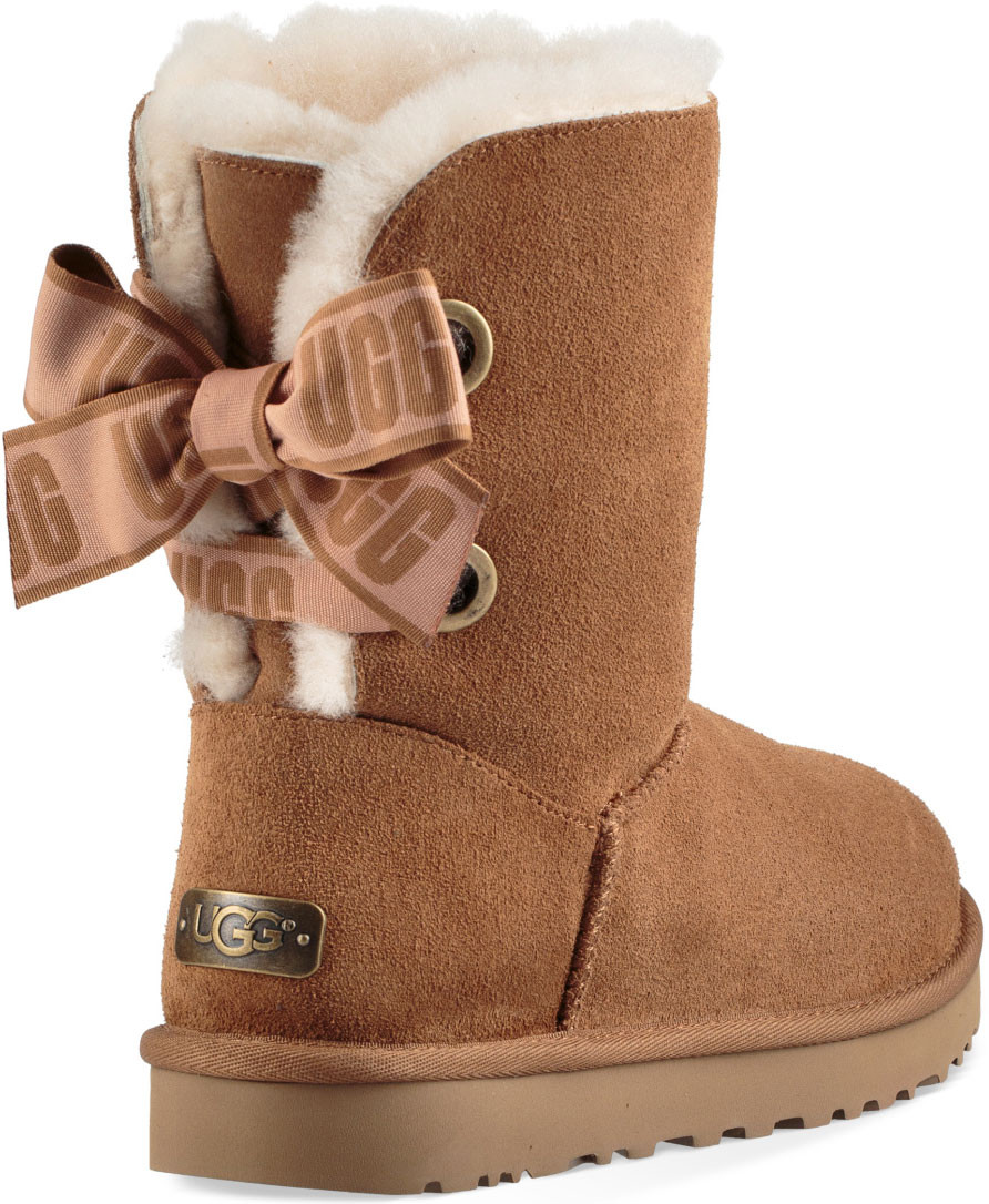 ... UGG Women's Customizable Bailey Bow Short. Black · Black · Charcoal · Chestnut ...