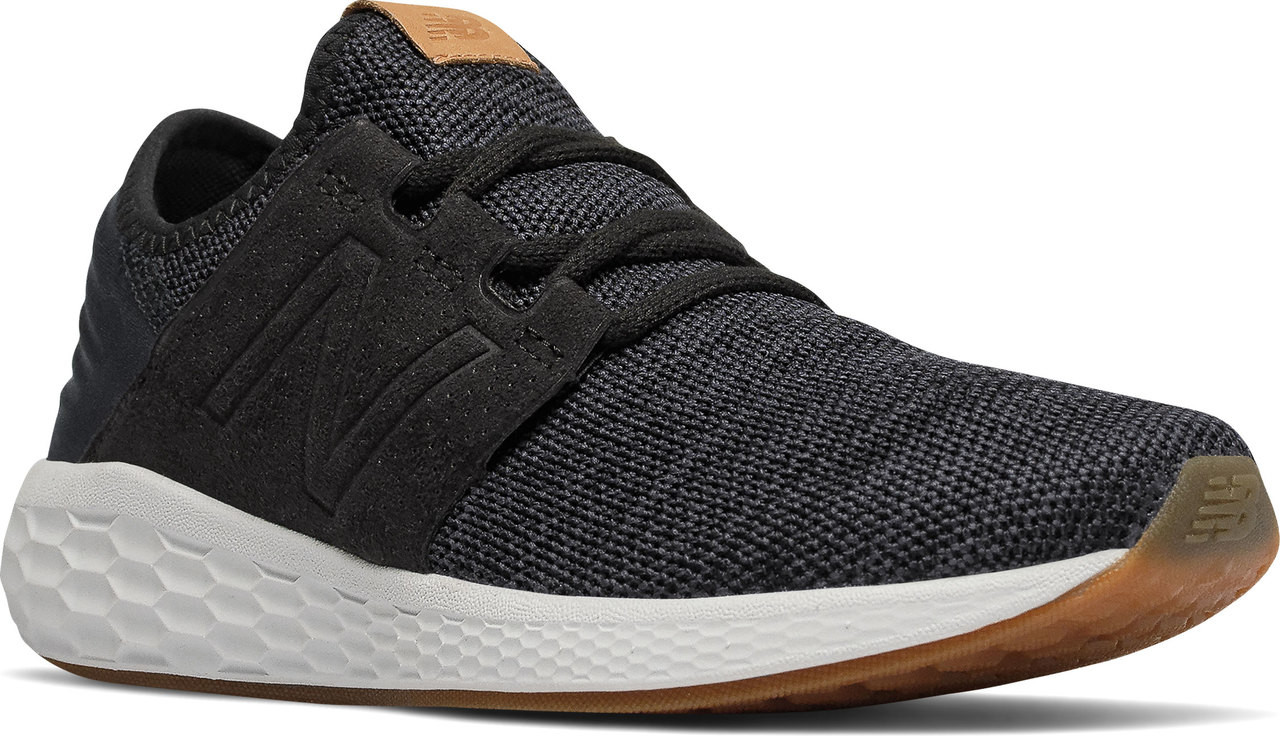 6ab143560897d ... Sneakers & Athletic; New Balance Women's Fresh Foam Cruz v2 Knit. Black  with Magnet