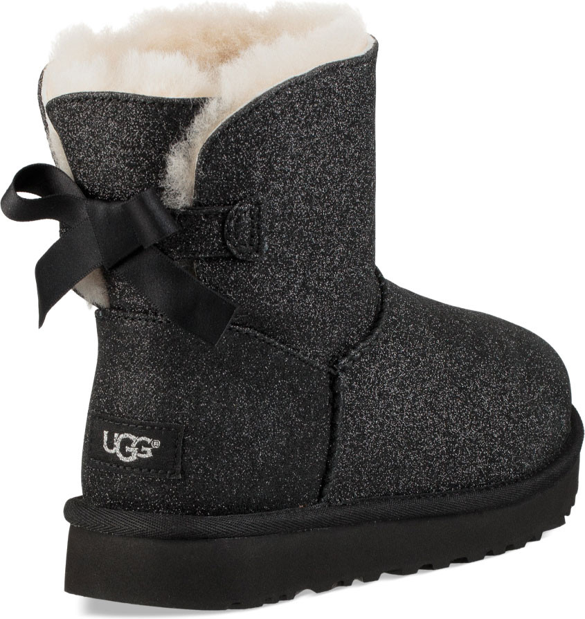 black uggs with sparkles