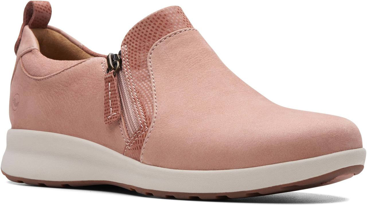 Generalmente Alegaciones Adepto  Clarks Unstructured Women's Un Adorn Zip - FREE Shipping & FREE Returns -  Women's Sneakers & Athletic