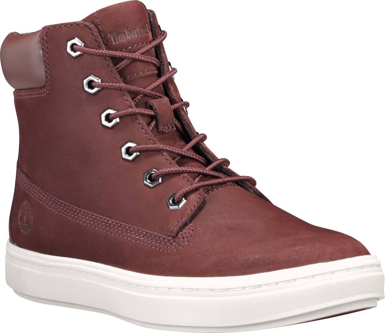 e6c142e46c11b3 ... Timberland Women s Londyn 6-Inch Sneaker Boots. Burgundy Nubuck